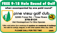 Pine View Golf Club Tape Design