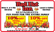 Red Hot Inn Tape Design